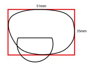 Properly measuring frame ED: box the frame