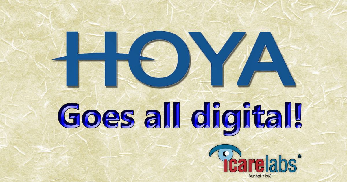 Hoya Vision Moves To All Digital Freeform Progressive Lenses