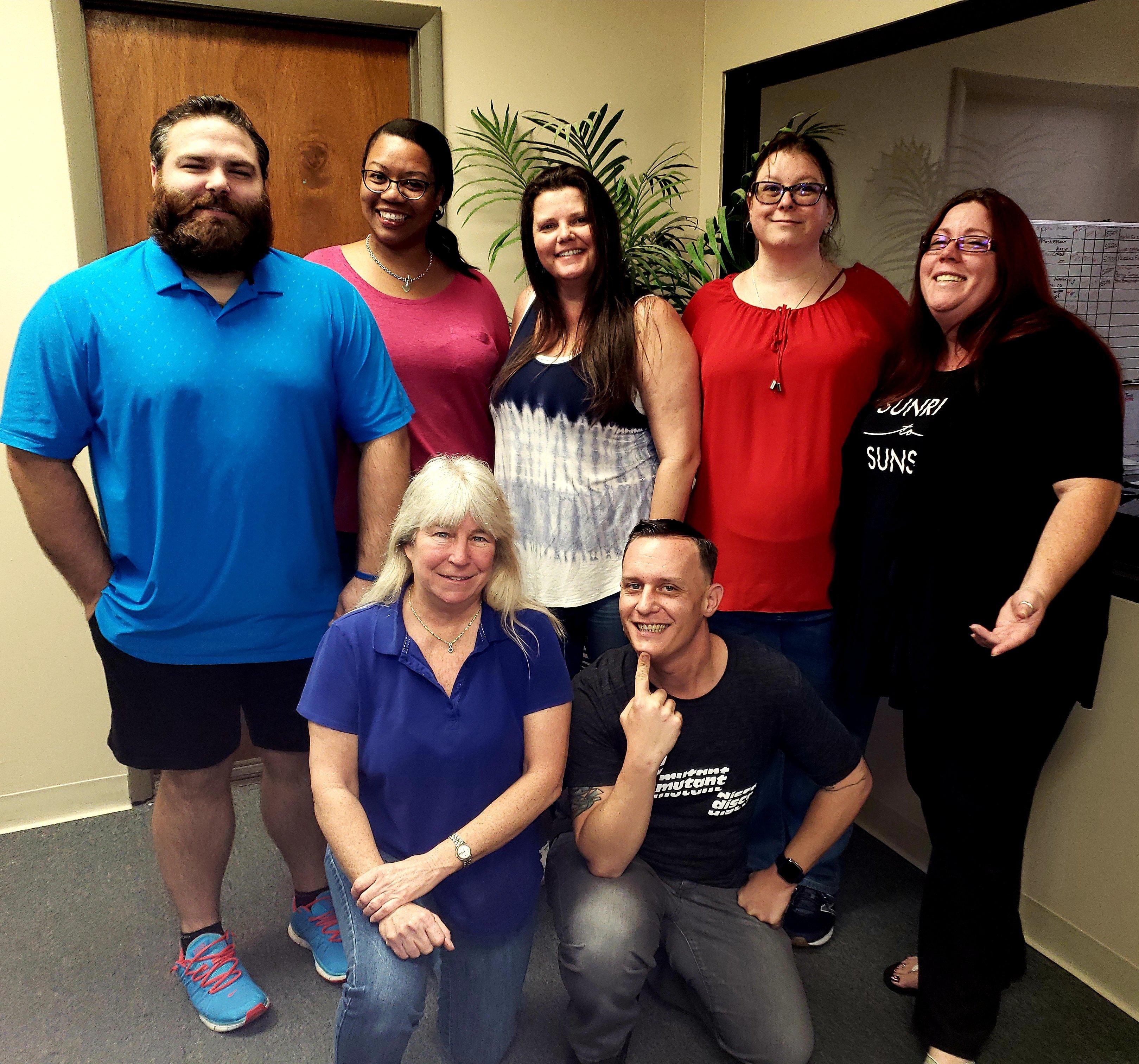 A few of the IcareLabs team members