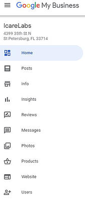 IcareLabs Google My Business Dashboard compressed