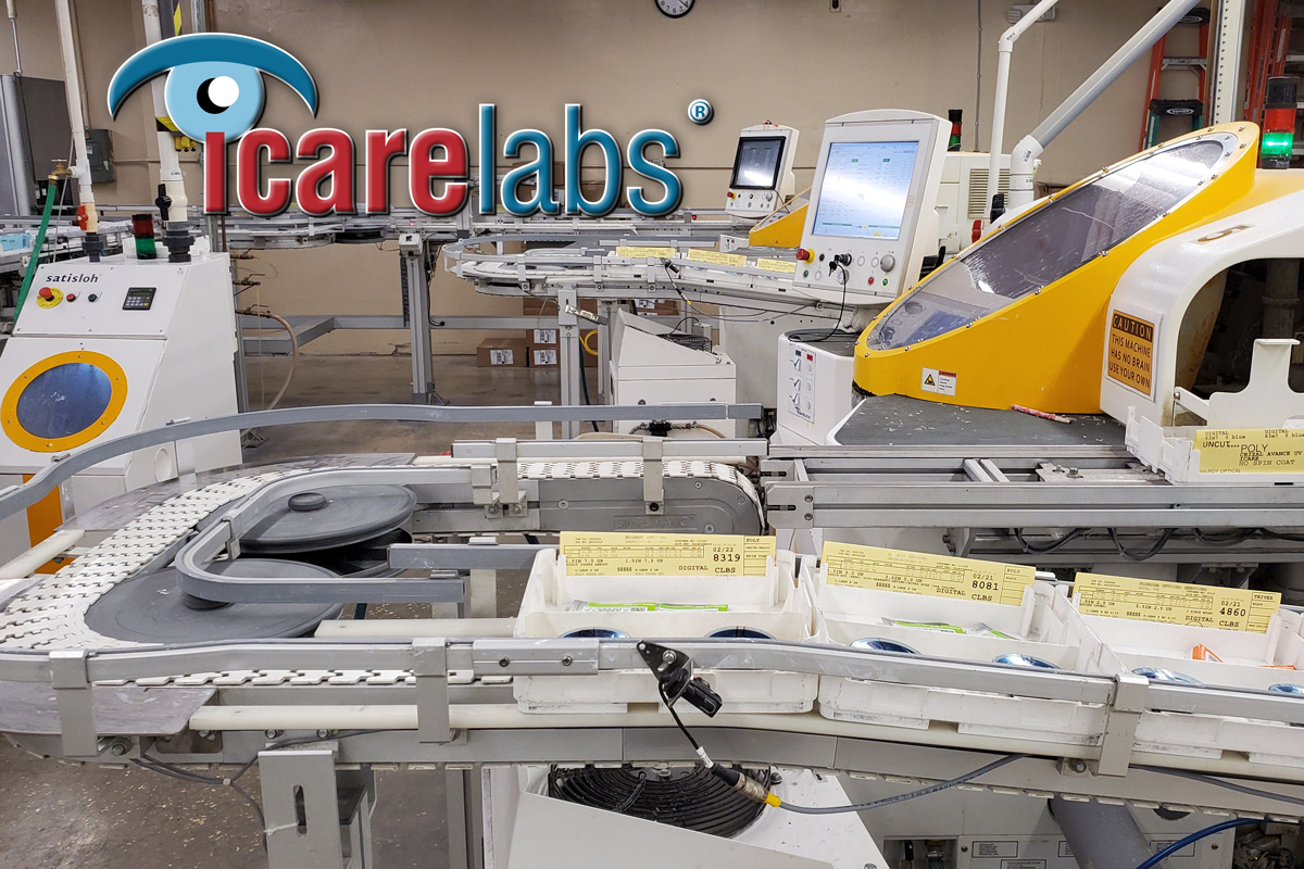 IcareLabs helps you get less remakes and redos for your patient's lenses