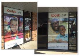 Kodak Customizable Exterior Branding