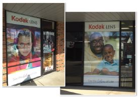 Kodak Customizable Exterior Branding