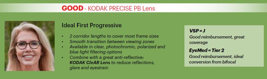 Kodak Precise PB Lens