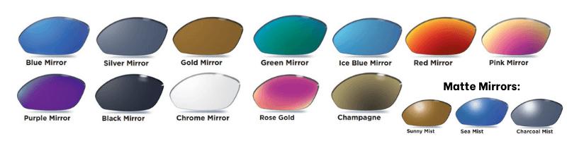 Polarized Mirror Lens Examples