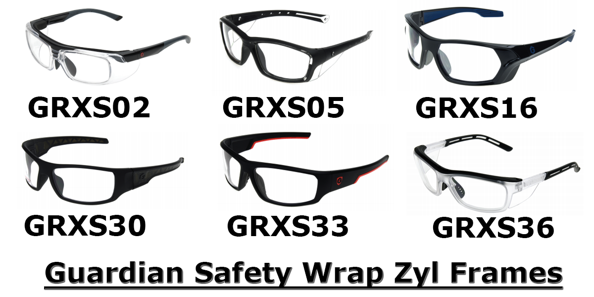 Guardian safety zyl wrap frames