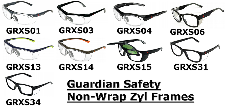 Guardian Safety Non-Wrap Zyl Frames
