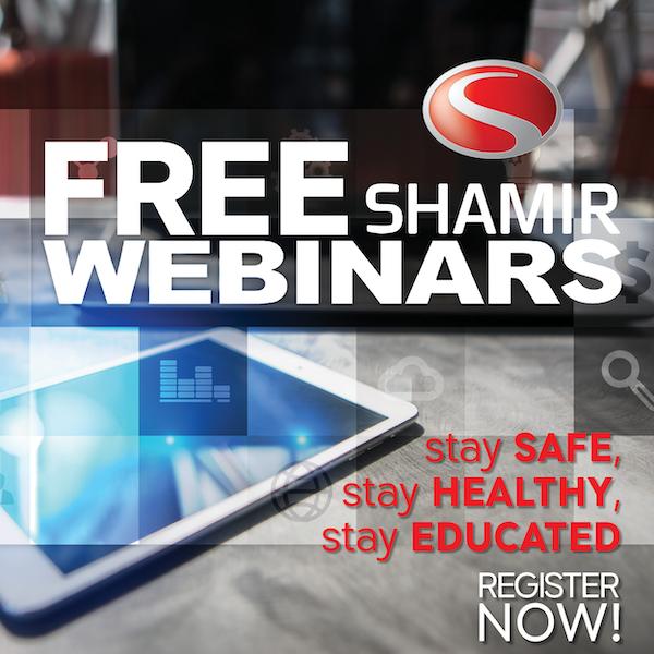 Shamir Webinars FREE for ECPs