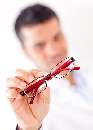 A patient that can't see with their new glasses is not a happy one!