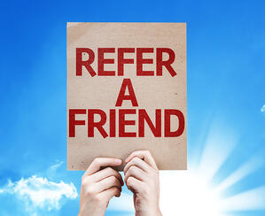 Patients that refer their friends and family to your optical shop are the best kind!