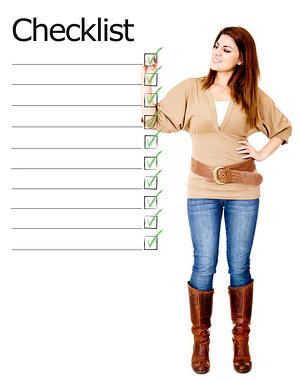 Checklist keep your clean routine consistent