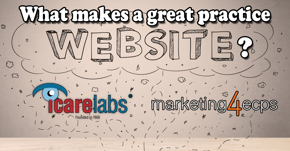 What makes a great practice website?