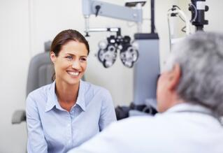 Patient satisfaction starts with the eye exam