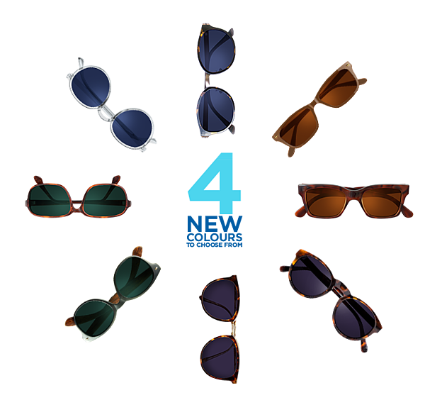 Transitions 7 Style Colour Collection Available From IcareLabs