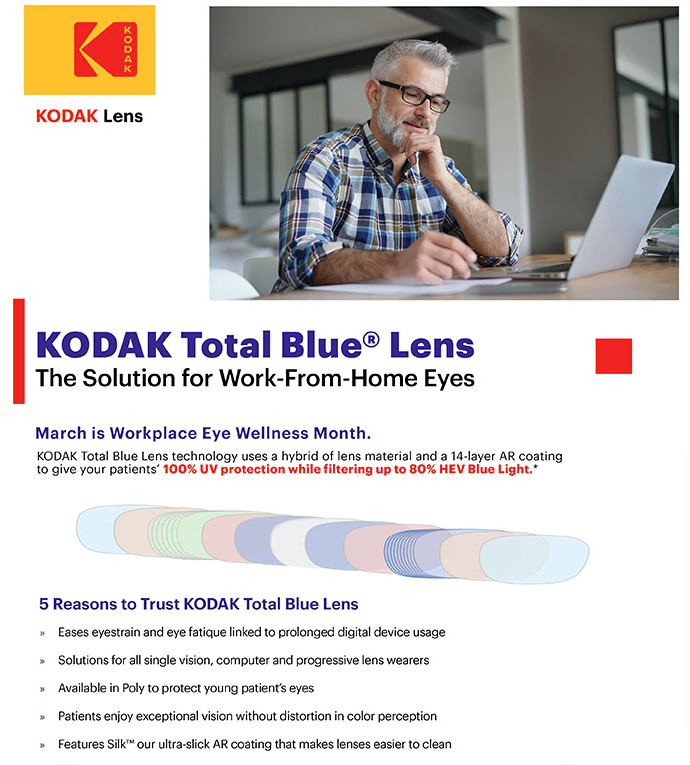 Kodak Total Blue Lens