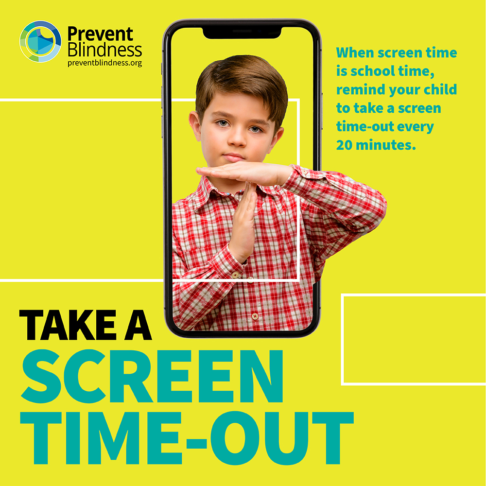 Screen Time Out promoposter