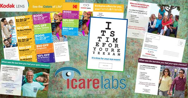 Kodak Lens and IcareLabs work for your optical!