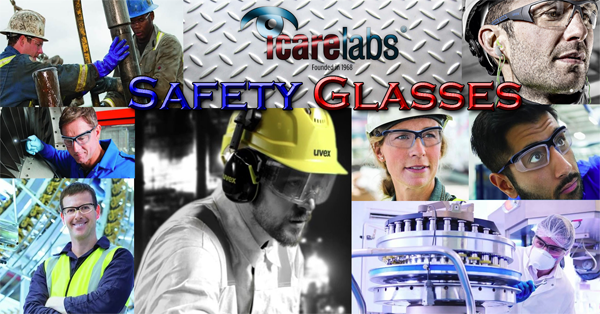Safety Glasses made by IcareLabs