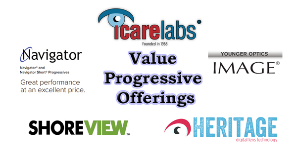 IcareLabs has several value progressive offerings to help your optical maximize profits without sacrificing quality!