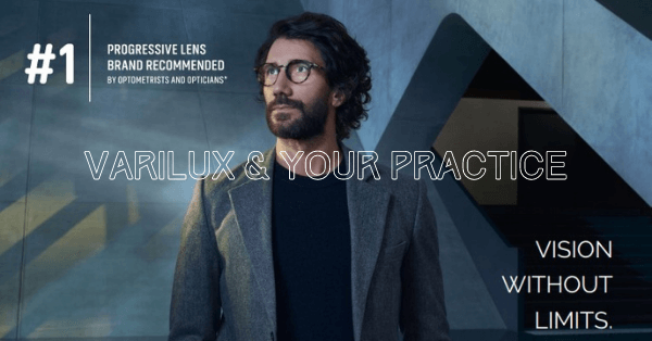 Varilux and your practice are a winning combination